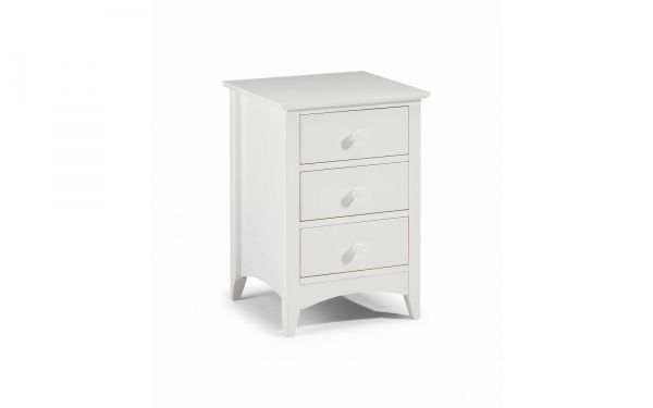 Cameo Bedside Chest | 3 Drawer