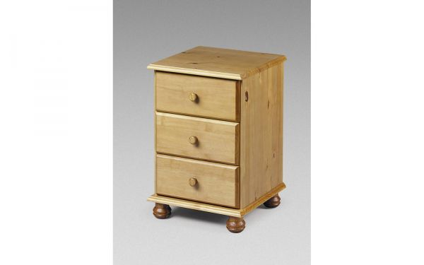 Pickwick Bedside Chest | 3 Drawers