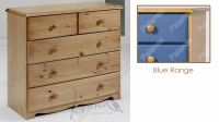 Verona Chest of Drawers 3 + 2 Drawer | Blue