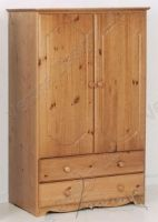 Verona Tall Boy 2 Door with Drawers | Antique