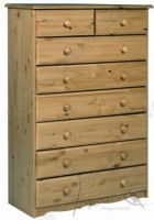 Verona Chest of Drawers 6 + 2 Drawer| Antique
