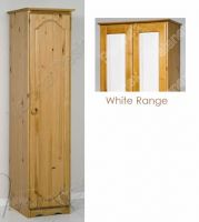 Verona Wardrobe 1 Door | White