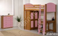 Verona Highsleeper Frame Only | Pink