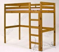 Verona Rimini High Bed Frame Only | Antique